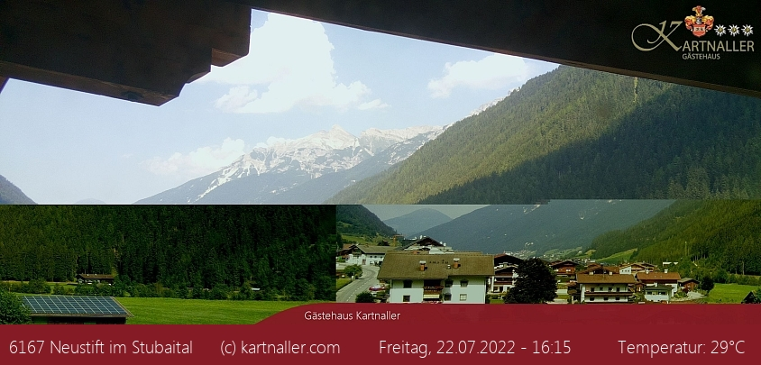 Webcam Gästehaus Kartnaller