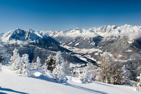 The Stubai Valley snow paradise