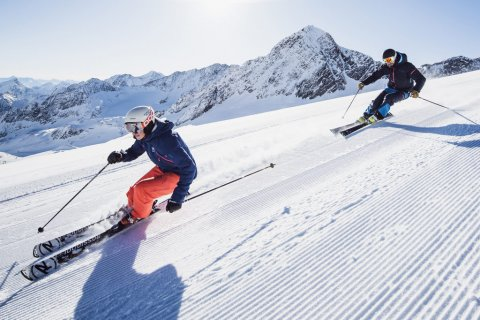 Ski and Snowboard Fun in Stubai